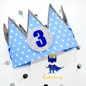 der-wollprinz-blaue-krone-superheld-einladungskarte-startseite